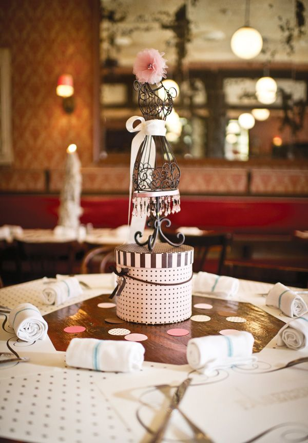 1920s French Bistro Inspired Parisian Batmitzvah // Hostess with the . - 250 Best Paris Images On Pinterest Birthday Party Ideas, Paris