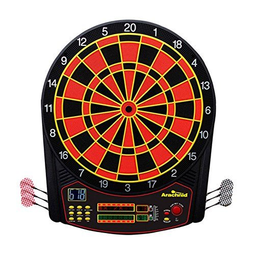 Dart Equipment for Kids - Arachnid CricketPro 450 Electronic Dart Board and Darts Set * More info could be found at the image url.