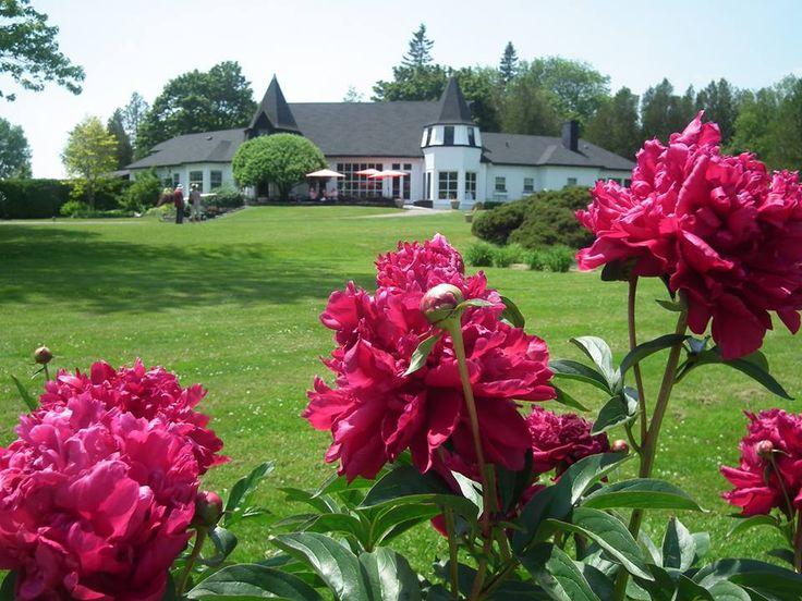 Garden Cafe at Kingsbrae Garden.   St. Andrews, New Brunswick, Canada