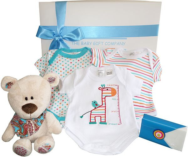 Best 25 baby boy hampers ideas on pinterest rustic kids hampers our little angel baby boy hamper contains cotton baby essentials that new parents will love negle Images