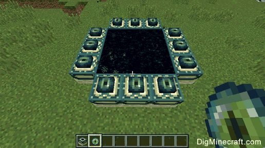 "Try building your own End Portal from ""scratch"" in Minecraft"