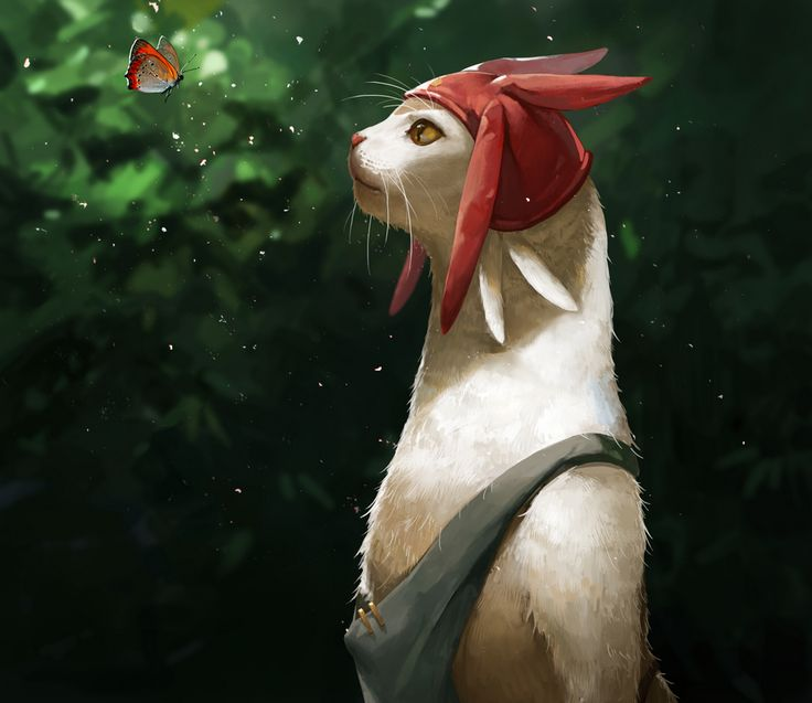 LighTofHeaveN, Space☆Dandy, Meow (Space☆Dandy), Semi-realism, Realistic, Anthro