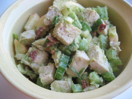 Alvacado Chicken Salad..yum: Food Recipes, August Recipes, Avocado Chicken Salad, Alvacado Recipes