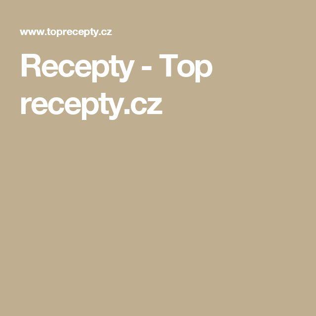 Recepty - Top recepty.cz