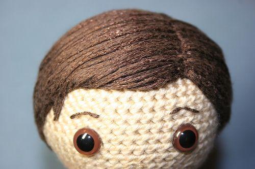 Amigurumi Doll Hair Tutorial : Best doll patterns tutorials images on pinterest