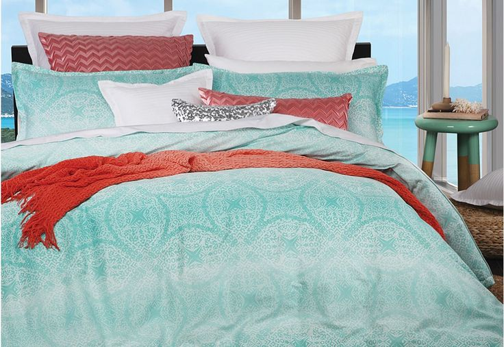 Brighten up any bedroom with the Byron Quilt Cover Set | Super A-Mart #superamartpin2win