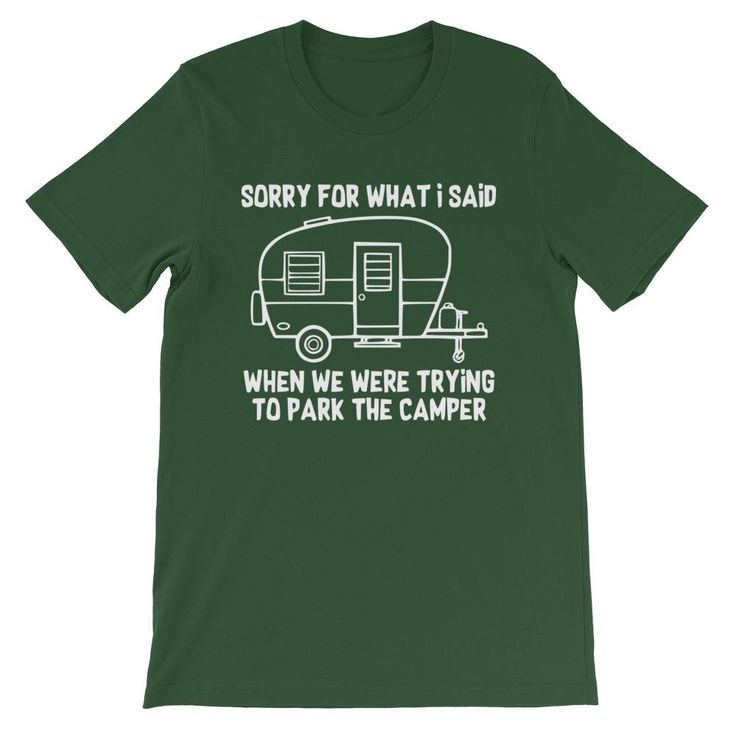 Trying to Park The Camper Short-Sleeve Unisex T-Shirt
