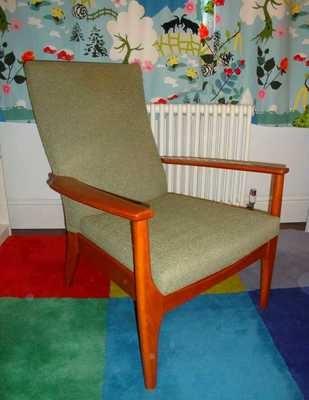 Vintage Retro Armchair Parker Knoll Fireside Chair Teak