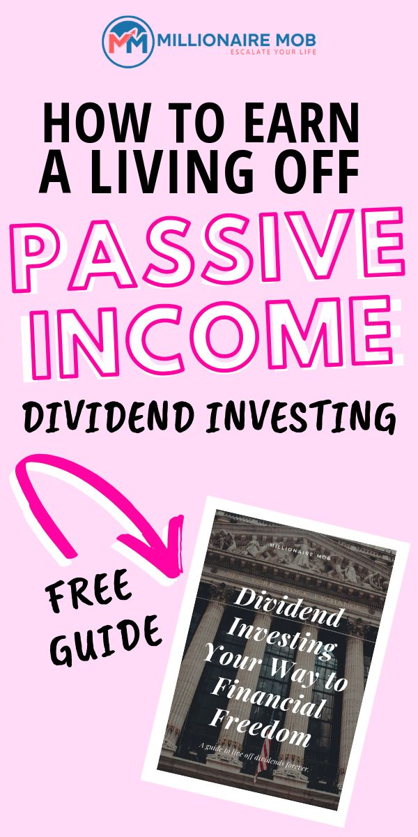 Live off Passive Income for life so you can relax …
