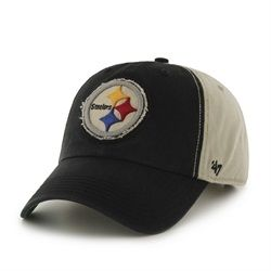 Vintage Logo Adjustable Pittsburgh Steelers Hat  c96951631