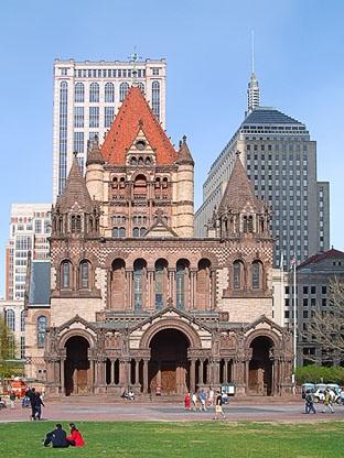 U.S. Trinity Church in Boston, MA