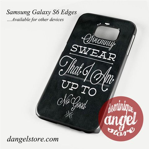 Harry-Potter quote i solemnly swear Phone Case for Samsung Galaxy S3/S4/S5/S6/S6 Edge Only $10.99