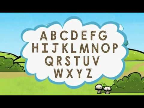 Super Why - ABC Song with Pig. Pig sings the ABC's 3 times and song gets faster each time. This mesmerizes a Kindergartener and the one minute video will be asked to be repeated several times.