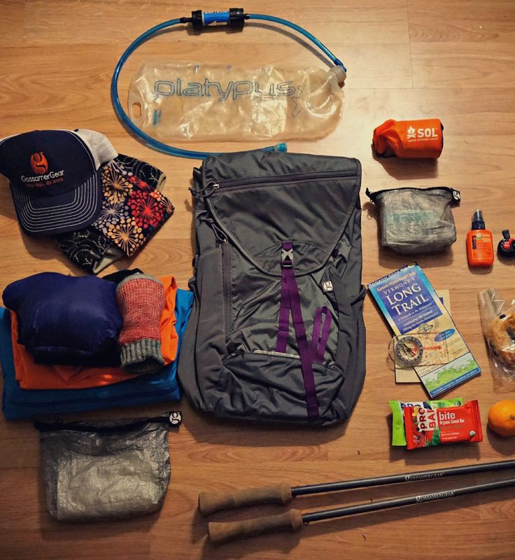 Lightweight Essential Day Hiking Gear - Learn what makes up this list and why each item is needed for a fun day adventure outdoors!