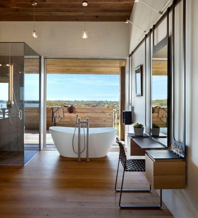 Modernes Feuchtraumboden Für Badezimmer Bodenbelag Abdichten Stil: 11 Besten Badezimmer Holzboden Bilder Auf Pinterest