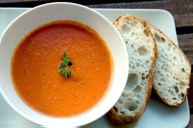 Krämig tomatsoppa