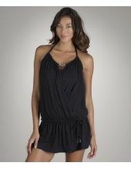 Luxe by Lisa Vogel - Opening Day Peekaboo Dress, Black