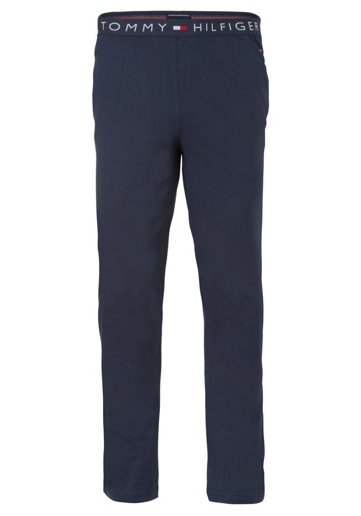 Tommy Hilfiger heren lounge broek (dun), blauw navy - Gratis verzending