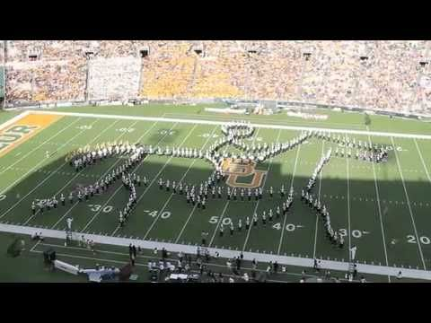 Baylor Homecoming 2012 halftime show