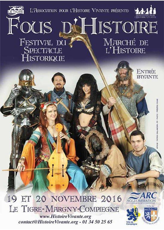 Le Chasseur de Dragons au Festival du Spectacle Historique - Fred Ericksen - Magicien Alternatif - Spectacle Magie Paris Bordeaux Pau