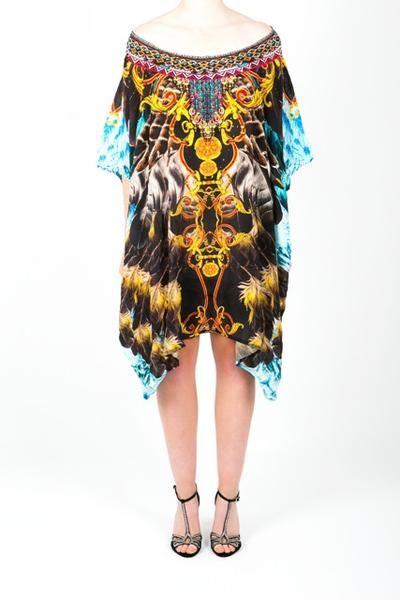 Embellished Kaftan Dress Design KC-K209-S