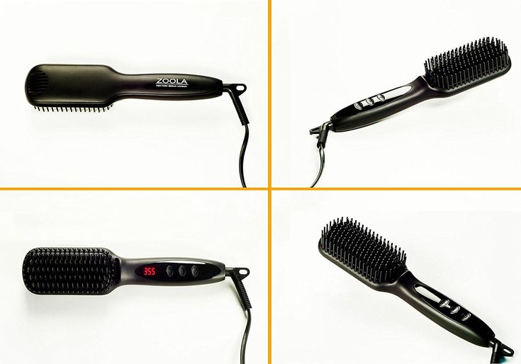 Ultimate Hot Brush Hair Straightener by ZOOLA- Women's Electric Hair Brush Professional Styling Tool, 2 in 1 Heated Hair Straightening Brush, Anion Technology, Anti-Scald, 250F - 450F and Fast Heating * Check out this great article. #hairideas
