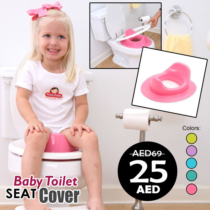 AED 25 only! Baby Toilet Seat Cover  ☎ +971 4 3589564 / WhatsApp: +971 507304400 https://esymart.com/baby-toilet-seat-cover.html