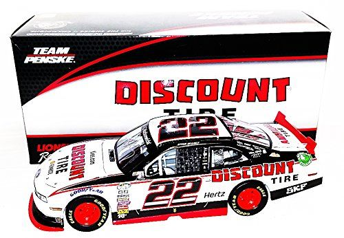 AUTOGRAPHED 2014 Ryan Blaney #22 Discount Tire Racing (Nationwide Series) Signed Lionel 1/24 NASCAR Rookie Diecast Car wiith COA (#113 of only 480 produced!) -  http://www.wahmmo.com/autographed-2014-ryan-blaney-22-discount-tire-racing-nationwide-series-signed-lionel-124-nascar-rookie-diecast-car-wiith-coa-113-of-only-480-produced/ -  - WAHMMO