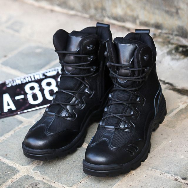Fair price TOP  Brand Military Tactical Boots Desert Combat Outdoor Army Travel Tacticos Botas Shoes Leather Autumn Ankle Men Boots Male just only $47.84 with free shipping worldwide  #menshoes Plese click on picture to see our special price for you