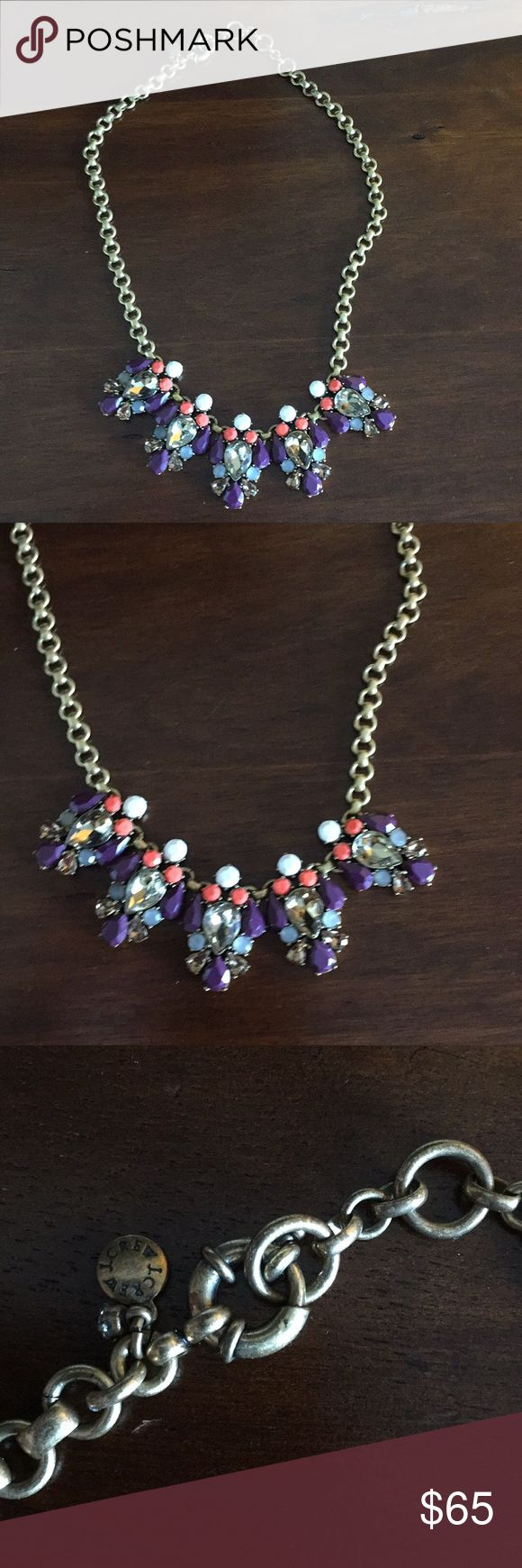 Gorgeous J Crew Statement Necklace Gorgeous J Crew Necklace    - Excellent Gift for anyone special in your life. - Never Worn - Brand Spanking New - Firm on price J. Crew Jewelry Necklaces
