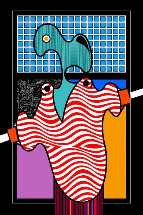 Oswald Aulestia, fantasma on ArtStack #oswald-aulestia #art