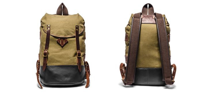 Hiking Pack (Olive) by Seil Marschall