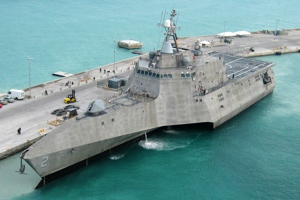 Modern littoral combat ships, such as the USS Independence, are highly advanced but cannot be everywhere at once. - Image - Naval Technology