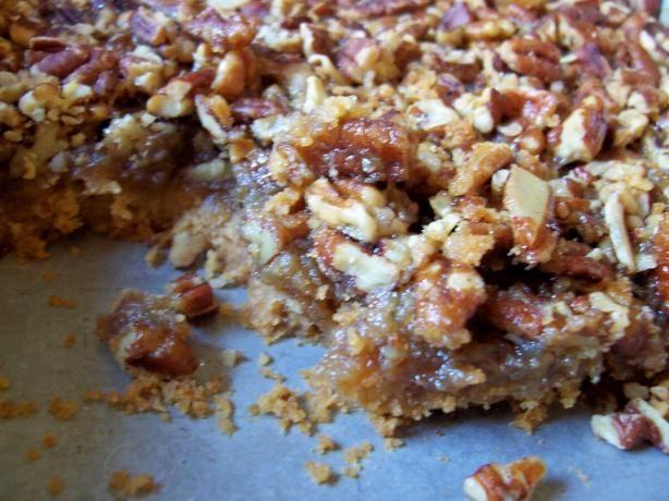 Pecan Bars - America's Test Kitchen. Photo by Debbie R.