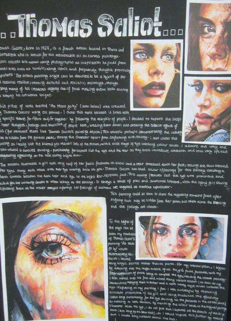 Beaumont School: GCSE Art and Design