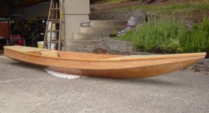 The Toto is a 13' long and is built using a stitch & glue method from two sheets of plywood.  This type of kayak can be built in a few weekends with basic woodworking and epoxying skills.