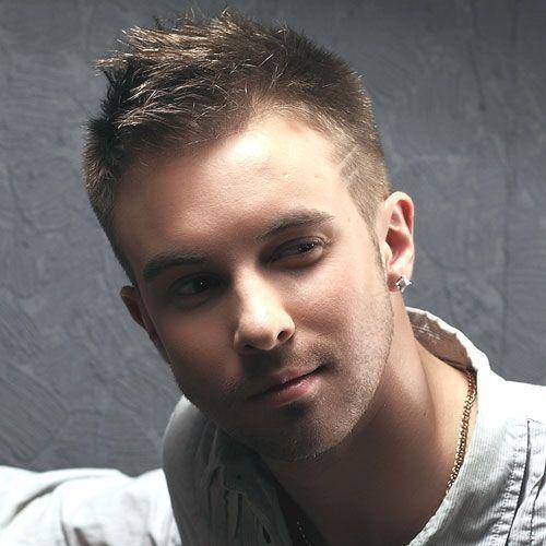 Stylish male haircuts