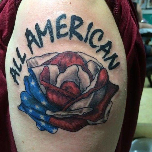 Guard Flag Tattoos Cool Coast