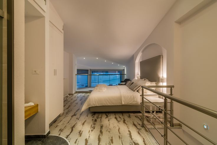 """Upper store of Deluxe Sea View Suite """"Sophie"""" of Hotel Akti Ouranoupoli"""