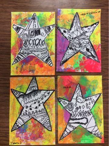 Drip, Drip, Splatter Splash: Hearts and Stars
