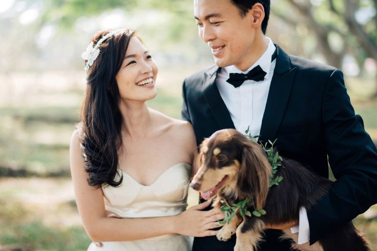 Seventh Heaven: Weijie And Annabel's Engagement Shoot