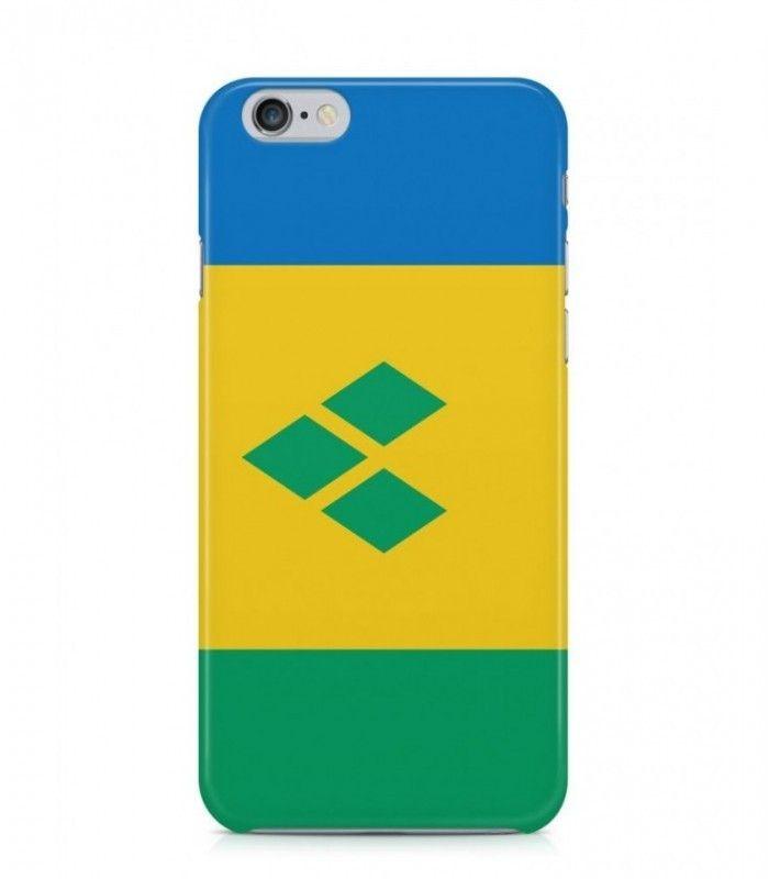 Saint Vincentian or Vincentian Flag 3D Iphone Case for Iphone 3G/4/4g/4s/5/5s/6/6s/6s Plus - FLAG-VC - FavCases