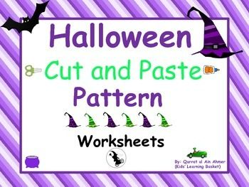 1000+ images about Halloween Worksheets on Pinterest | Cut and ...