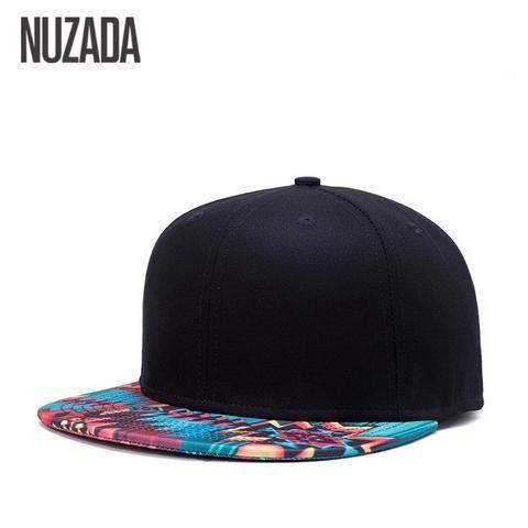 Brand NUZADA Unique Design Baseball Cap For Women Men Bone Printing Pattern Caps  Cotton Popular Street Art Hats Snapback 78e657ad604d