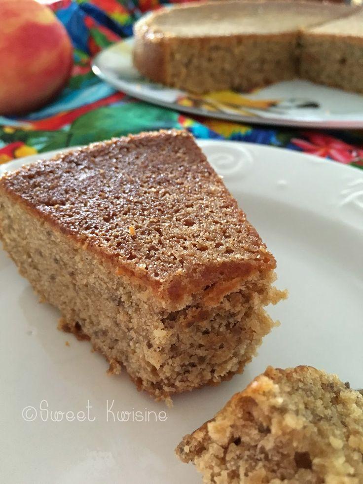 Gâteau aux Amandes et à la Cannelle #recette #végétal #vegan