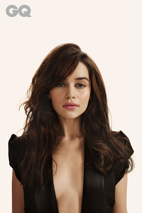 Emilia Clarke (Daenerys Targaryen in Game of Thrones)