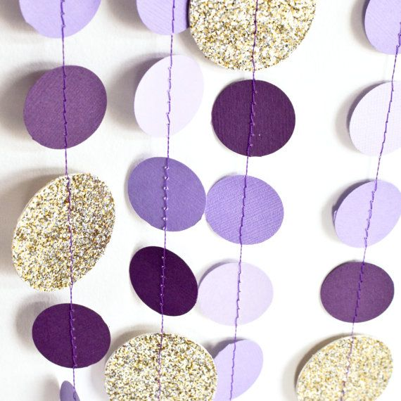 1000 ideas about purple gold weddings on pinterest gold - White and purple decorations ...