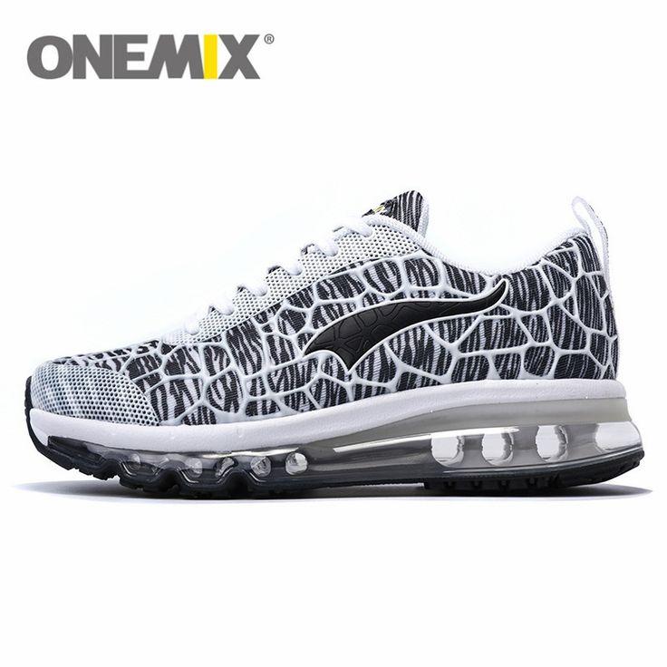 2016 onemix Air Soft Cushion Running Shoes for Men Brand Sneaker Free Run Thea Jogging Women Trainers Racer Barefoot female shoe