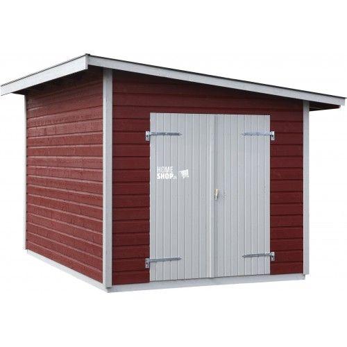 Vi har DK's bedste priser online på Redskabsrum og Hytter | F.eks. JABO Torsbo 8,6 m² Redskabsskur  | Lav pris -  Hurtig levering