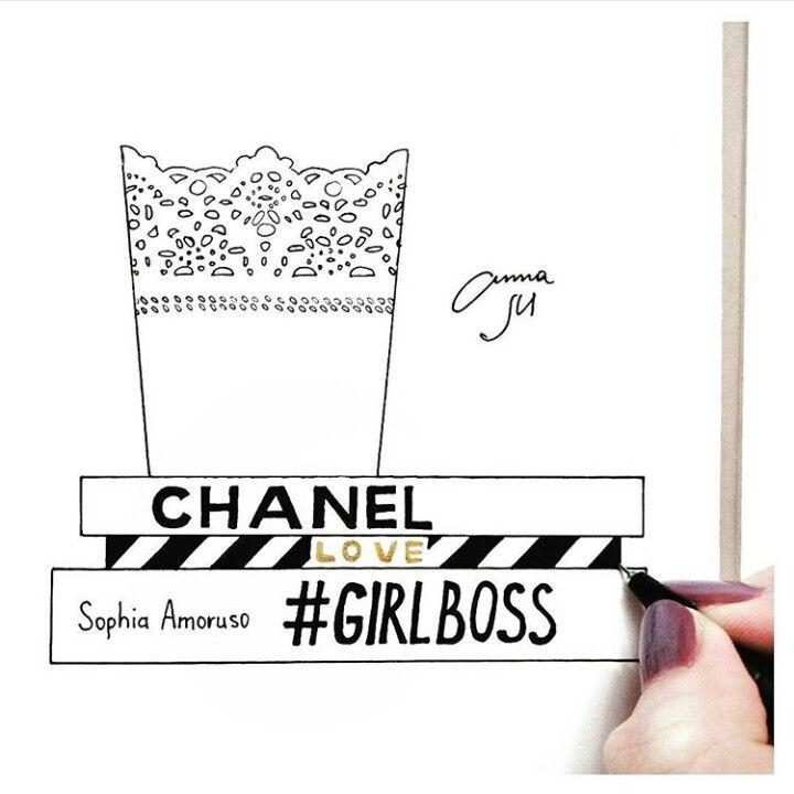 Tumblr drawing girlboss